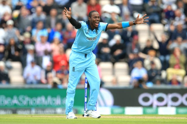 Eoin Morgan was also impressed by Jofra Archer