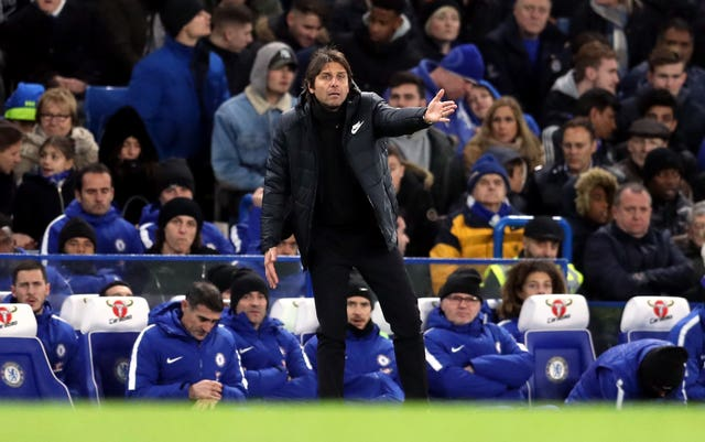 Antonio Conte thinks his squad is on the small side