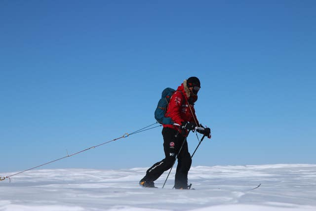 Walking with the Wounded South Pole Allied Challenge – Day one