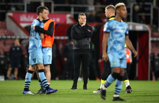 Mark Cooper praised his Forest Green players after their penalty shoot-out defeat to Bournemouth