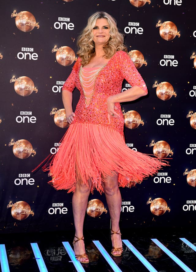 Susannah Constantine at the Strictly Come Dancing Launch