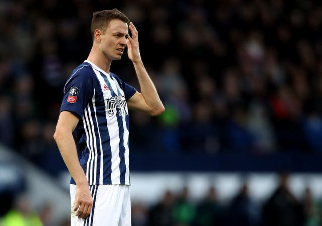 Jonny Evans has been at West Brom since 2015 (Nick Potts/PA)