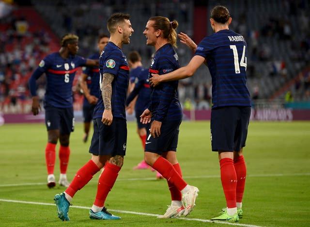 Didier Deschamps in no doubt about the quality of striker Antoine Griezmann