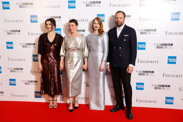 The Favourite Premiere – 62nd BFI London Film Festival