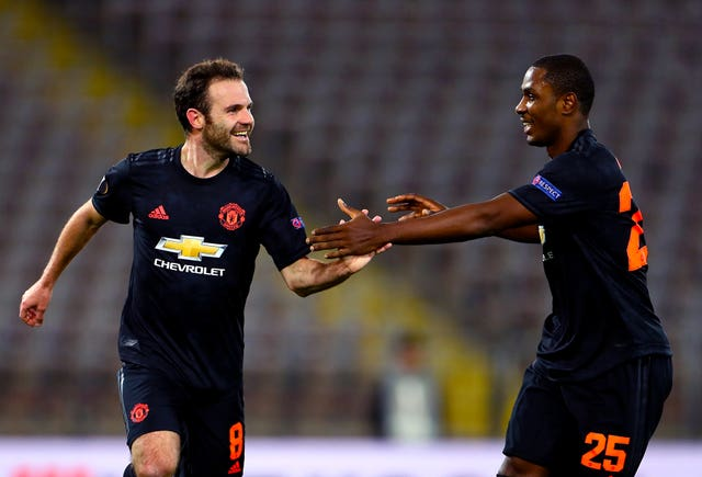 LASK v Juan Mata and Odion Ighalo United – UEFA Europa League – Round of 16 – First Leg – Linzer Stadion