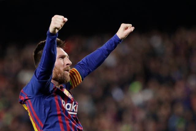 Lionel Messi, who scored twice in the Champions League win over Liverpool, will not play against Celta Vigo