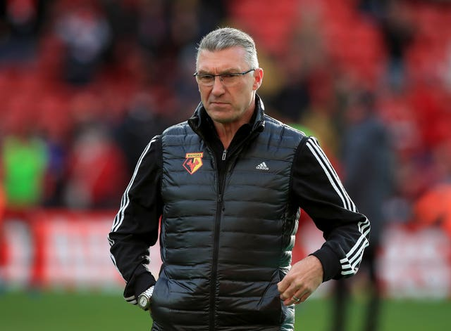 Nigel Pearson was taking charge of his first match as Watford manage