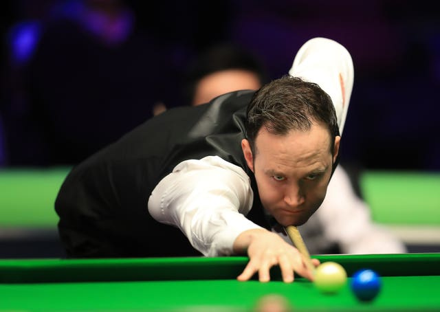 Martin O'Donnell was unable to get the better of Ronnie O'Sullivan on Friday