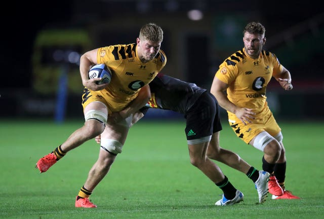 Jack Willis, left, has impressed for Wasps this season