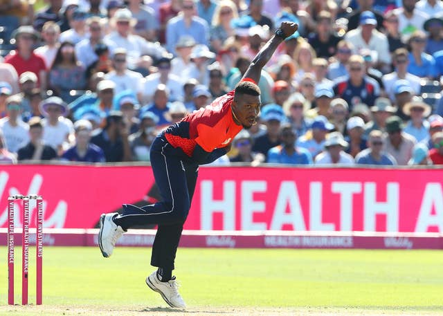 Chris Jordan admitted England were outplayed at Cape Town (Mark Kerton/PA)