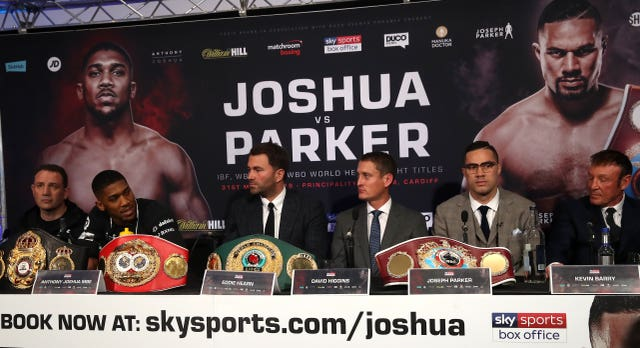 Joseph Parker is adamant all four belts will return to New Zealand