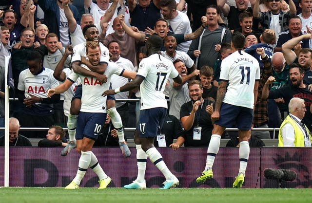 Tottenham beat Villa of their first recreation of the season
