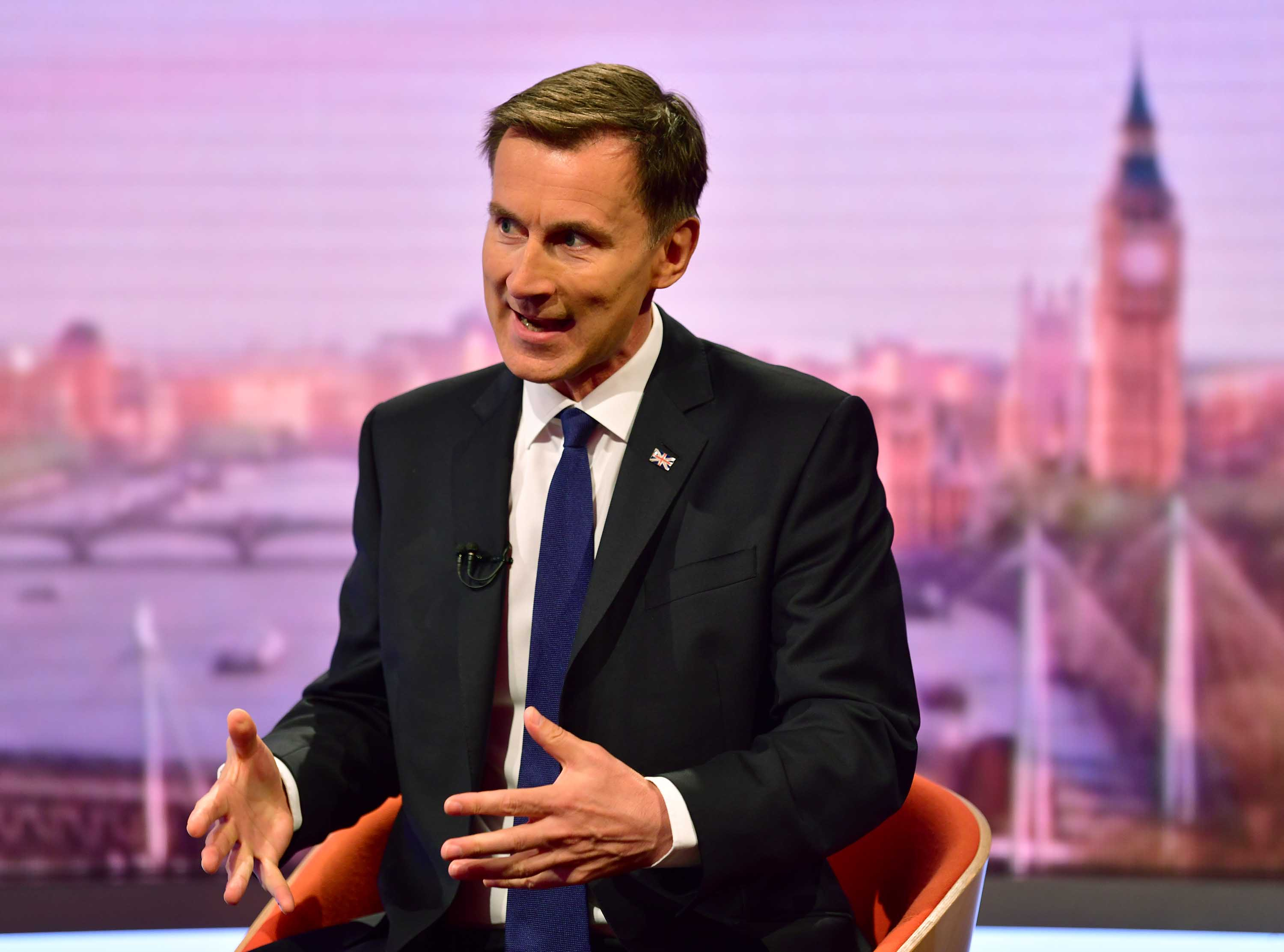 Warning PM rivals, minister says no deal would swallow Brexit war chest