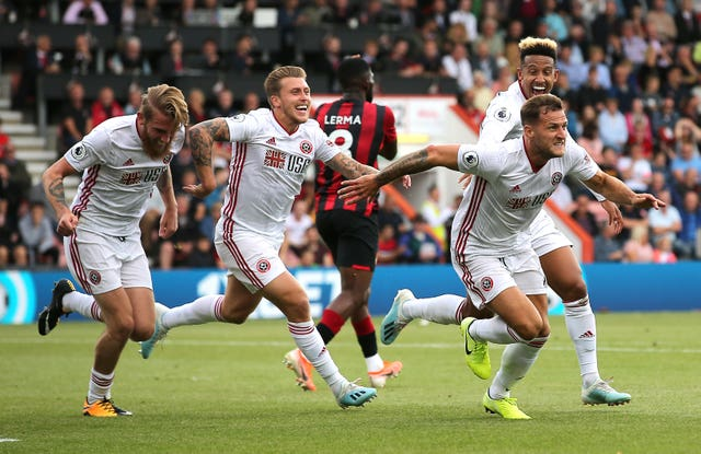Sheffield United scored a point in their 2019-20 Premier League season opener thanks to fan favorite Billy Sharp