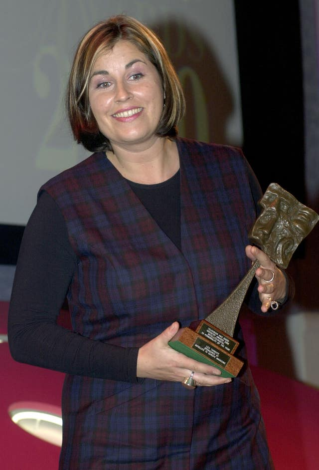 Tric Awards Liza Tarbuck
