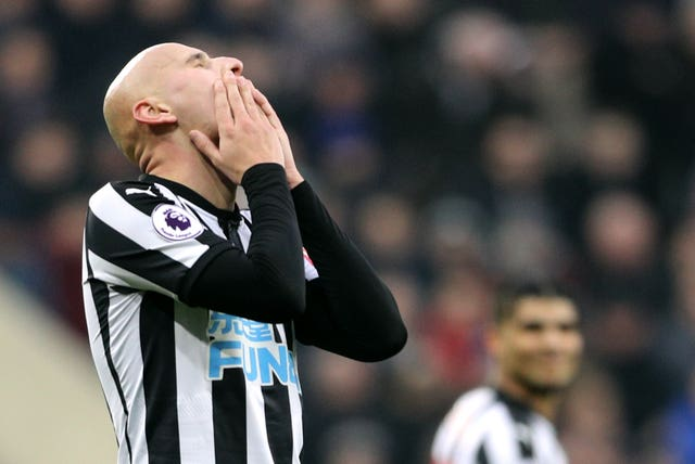 Jonjo Shelvey was another play to miss out