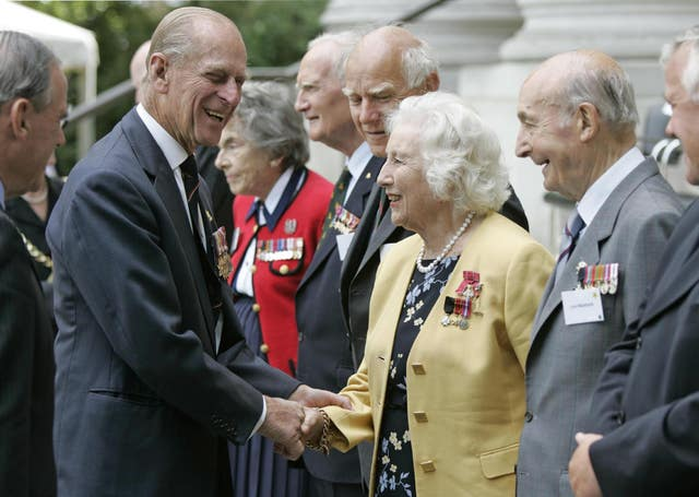 DAME VERA LYNN AT 90 60th anniversary of VJ Day – Imperial War Museum