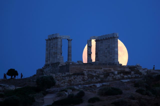 Greece Lunar Eclipse
