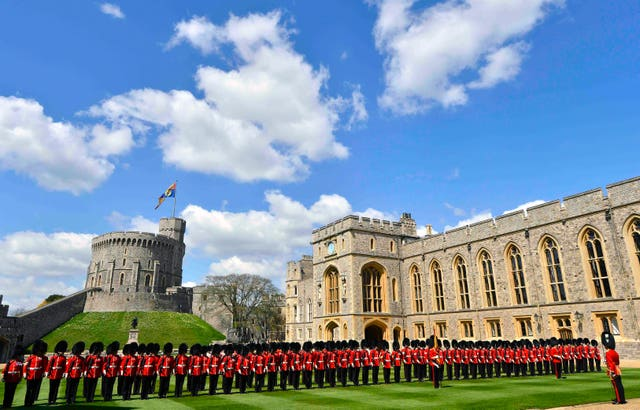 Guard of Honour at Windsor Castle