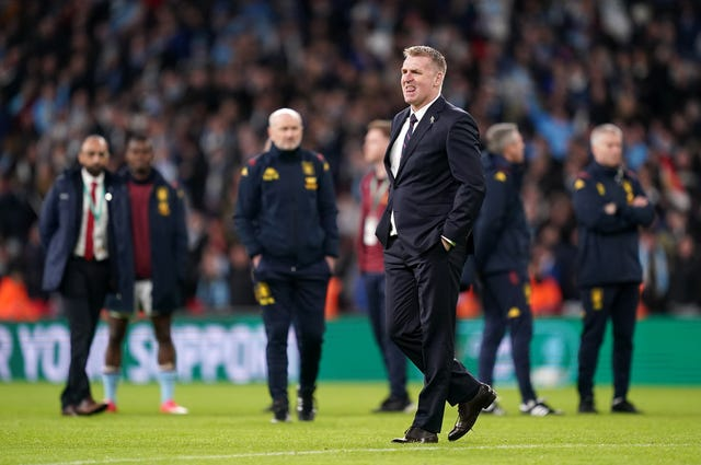 Aston Villa manager Dean Smith refused to blame the corner decision