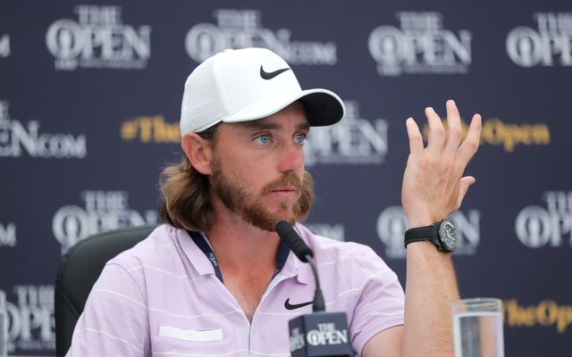Tommy Fleetwood is not putting too much pressure on himself to win a major