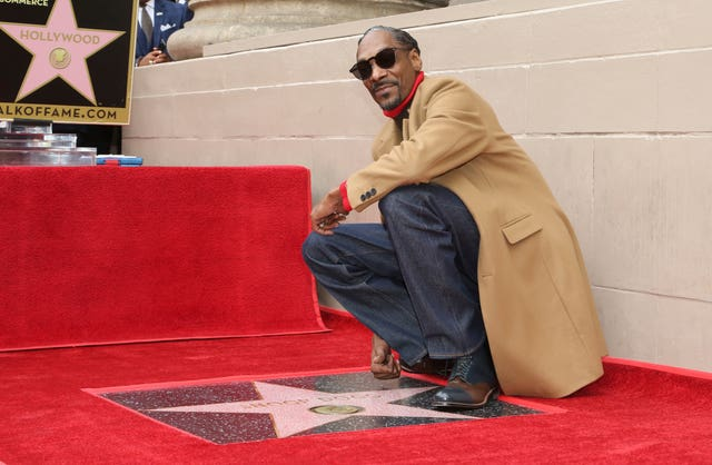Snoop Dogg Honored with a Star on the Hollywood Walk of Fame