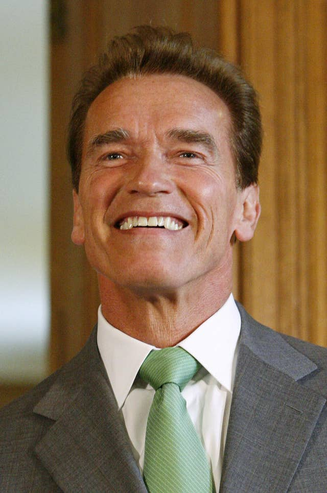 Arnold Schwarznegger in London