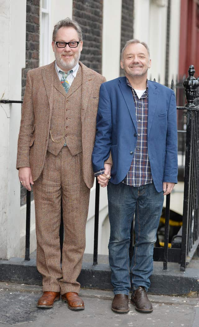 Reeves & Mortimer tour photocall