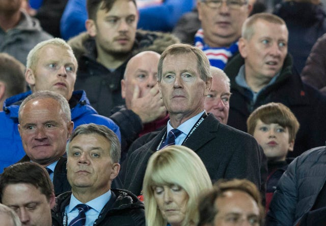 Dave King has stepped down as Rangers chairman