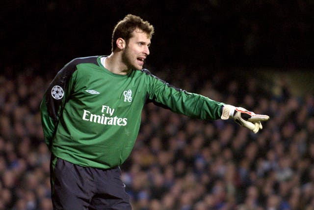 Cech quickly established himself as Chelsea's first-choice goalkeeper.
