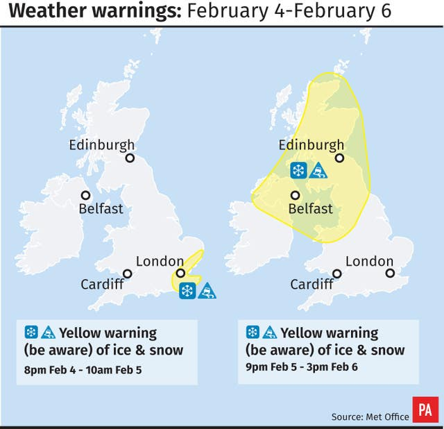 Uk met office weather forecast brits urged to brace for coldest 39 winter week - Www met office weather forecast ...