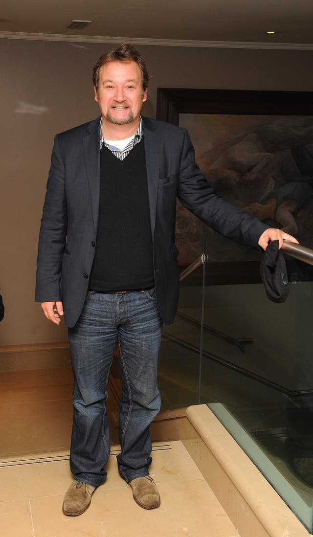 James Dreyfus is seen at the screening of Yes, Prime Minister,