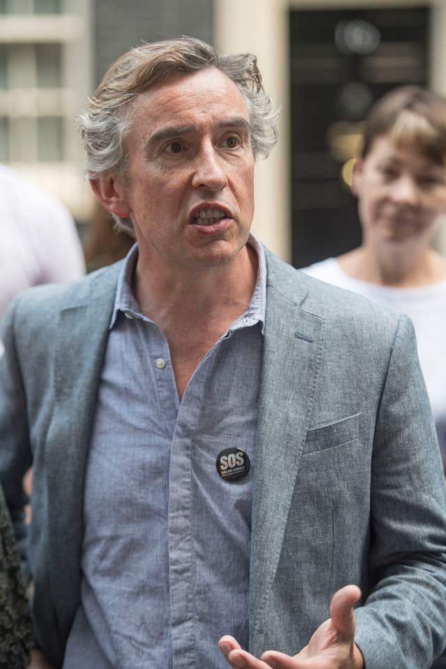 The film was also to feature Steve Coogan