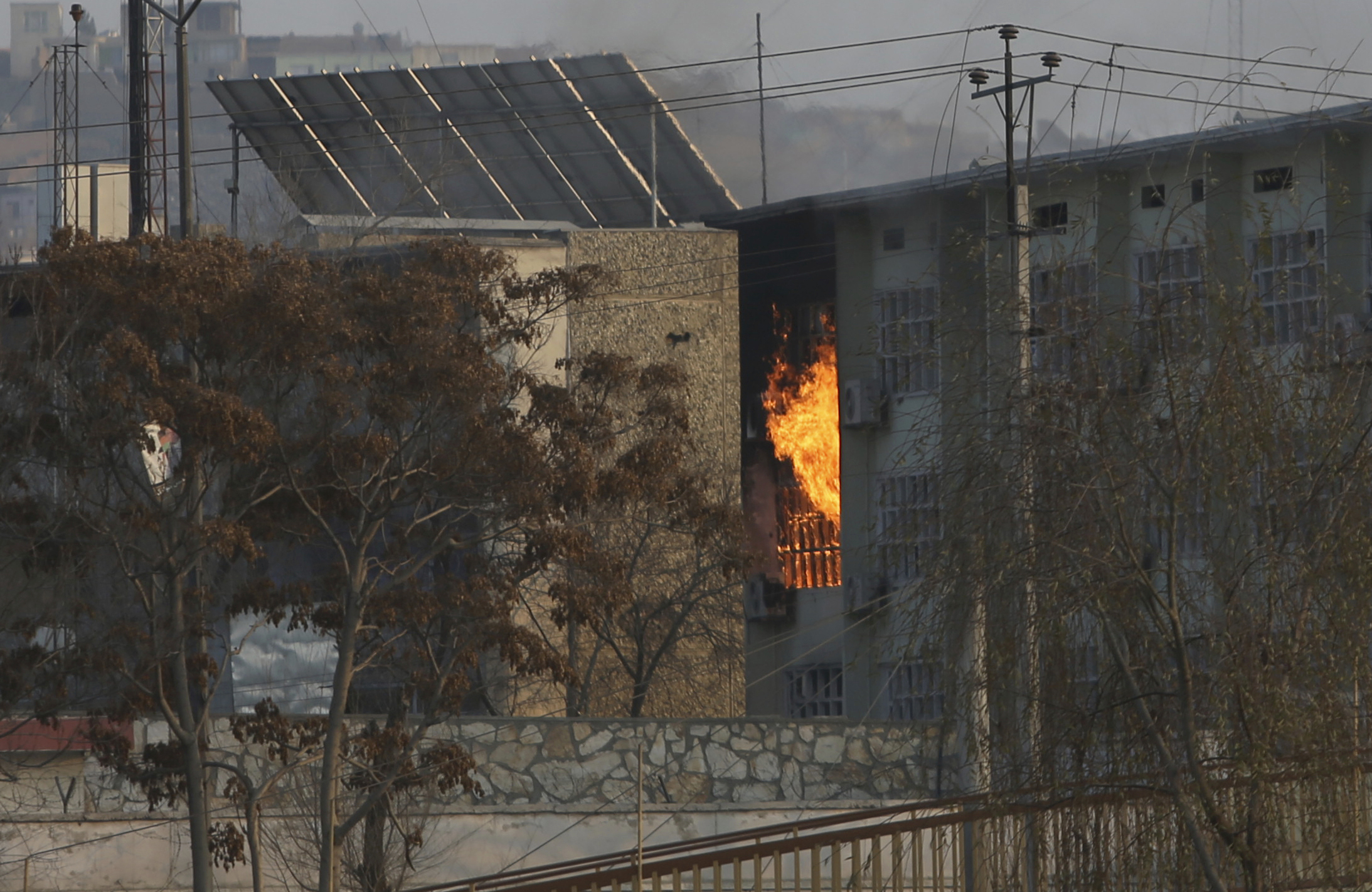 Afghan Militants Detonate Car Bomb, Storm Into Kabul Govt Compound