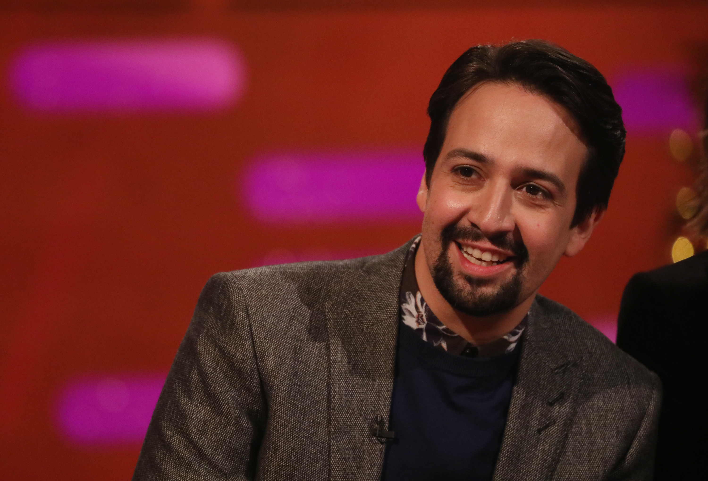 Lin-Manuel Miranda geeks out on His Dark Materials