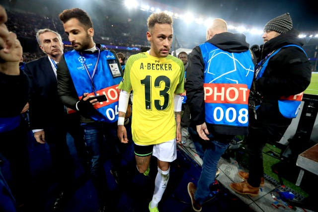Neymar's status at PSG is uncertain