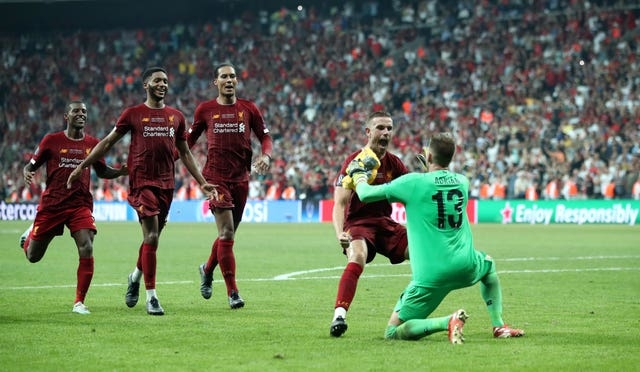 Liverpool beat Chelsea on penalties in Istanbul to win Super Cup