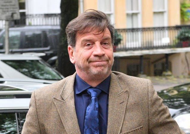 Nick Knowles arrives at Cheltenham Magistrates' Court