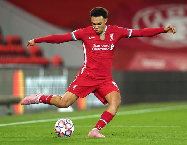 Trent Alexander-Arnold is looking forward to the return of fans