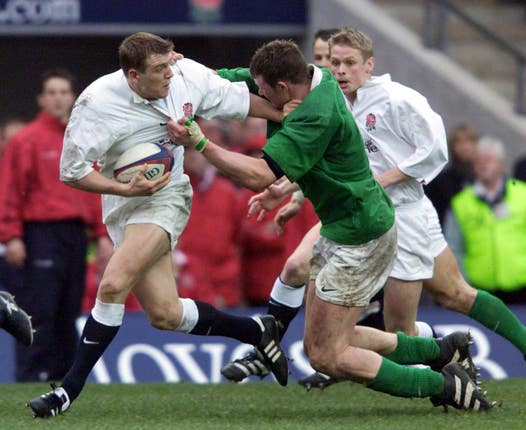 Ben Cohen scored a superb try against Ireland in 2000