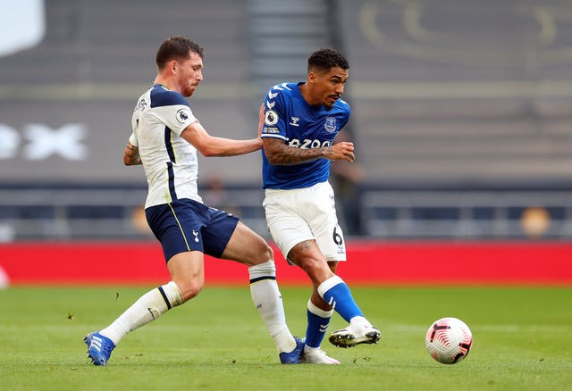 Allan played a key role in the win over Tottenham