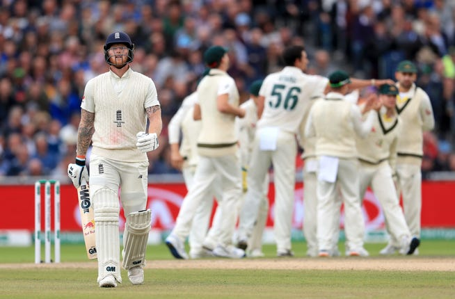 Ben Stokes could not provide the heroics this time