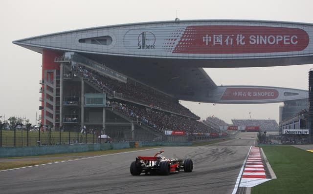 The Shanghai International Circuit, home of the Chinese Grand Prix