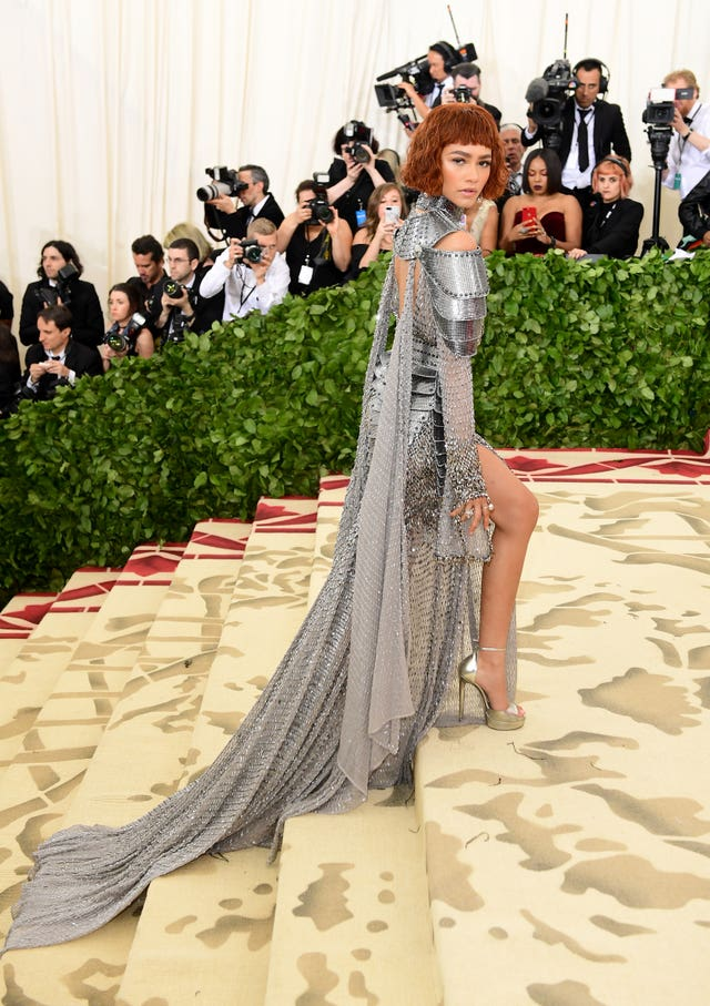 Zendaya attending the Metropolitan Museum of Art Costume Institute Benefit Gala 2018 in New York, USA