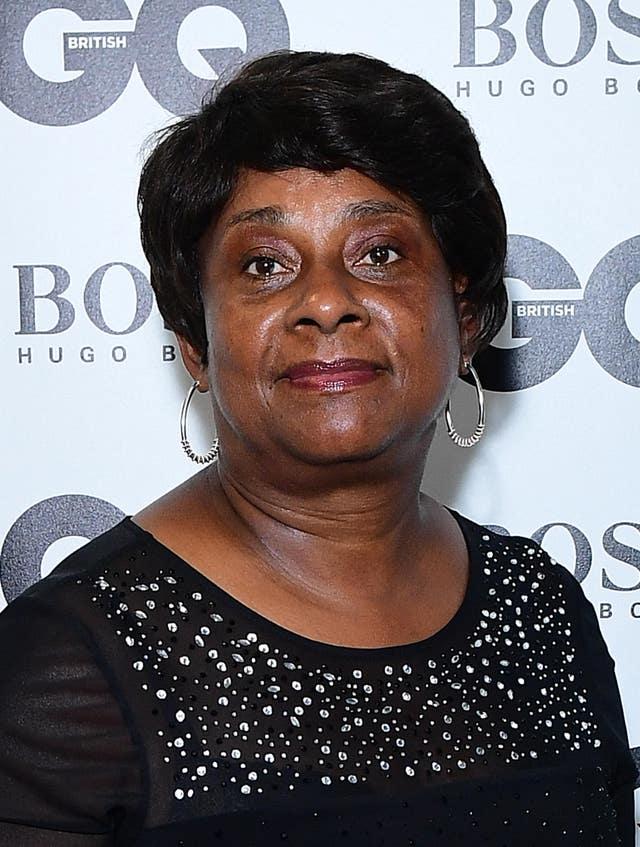 Baroness Doreen Lawrence, who has completed a review into the impact of coronavirus on black, Asian and minority ethnic communities, (Ian West/PA)