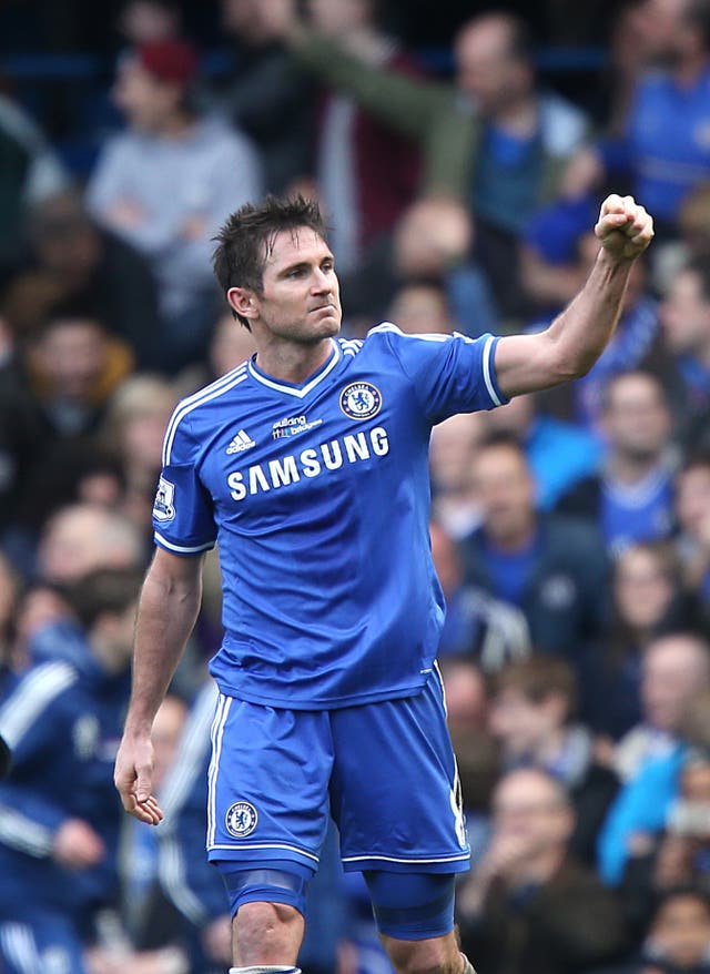 Lampard enjoyed a glittering playing career at Stamford Bridge