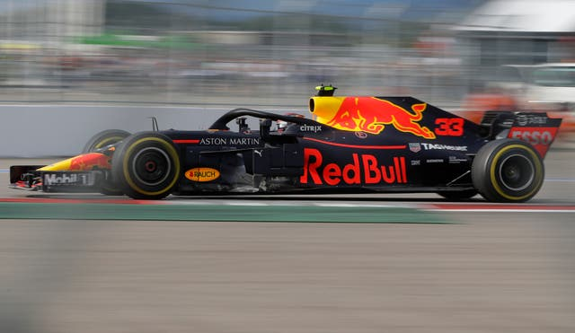 Max Verstappen performed impressively in Sochi