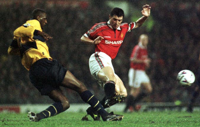 There was no love lost between Roy Keane and Patrick Vieira
