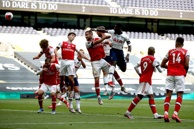 Toby Alderweireld's header was enough for Spurs to beat Arsenal at the weekend.