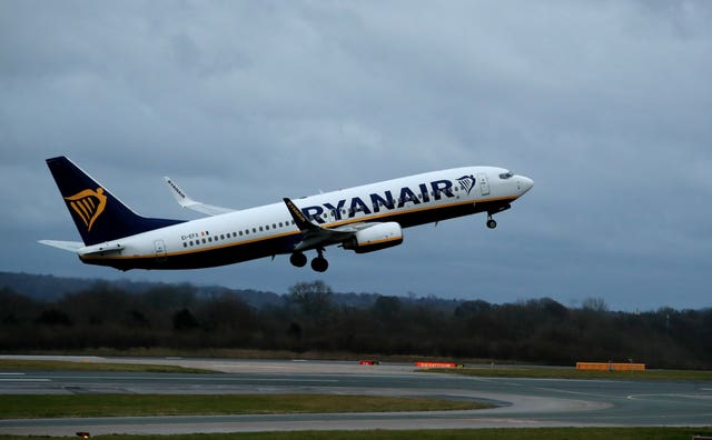 Ryanair also announced cancellations